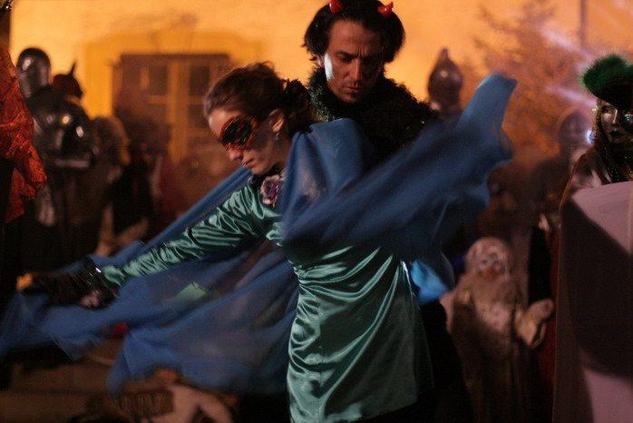 karnevál dance