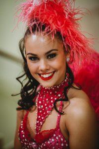 Revü tánc show